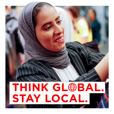Think Global. Stay Local.